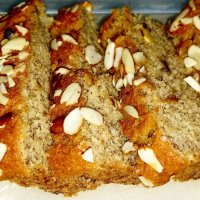 Banana Almond Bread Loaf