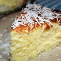 Honey Almond Coconut Cake