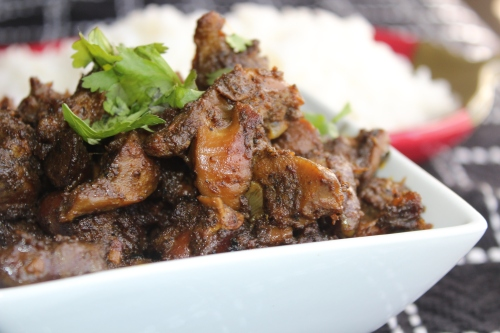how to cook chicken gizzards indian style