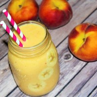 Peach Protein Smoothie