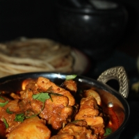 Spiced Chicken & Potato Curry